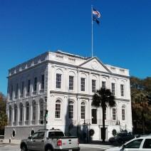 Charleston City Hall on a brilliant SC day