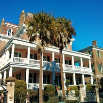 The Battery Carriage House Inn in Charleston, SC is not only beautiful, it is home to two ghosts