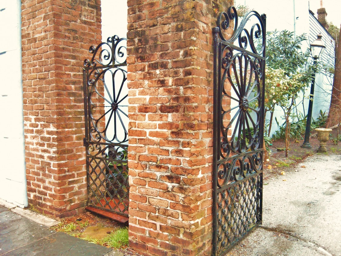 Beautiful Charleston Wrought Iron Gates