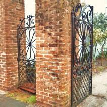 Beautiful Charleston Wrought Iron Gates