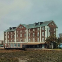 The Rice Mill in Charleston is an iconic building along the Ashley River