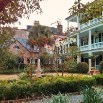 A beautiful garden and home in Charleston, SC... spring is springing!
