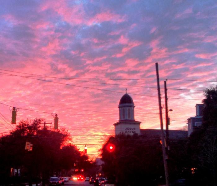 Another beautiful Charlston sunset.