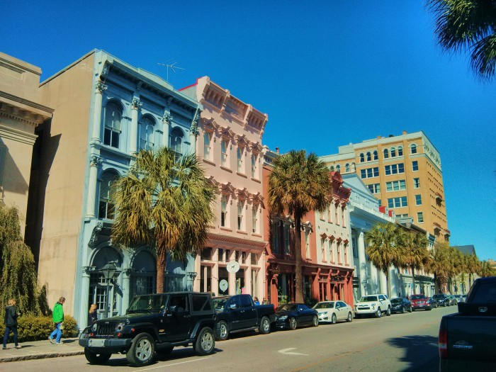 Broad Street in Charleston, SC is a vibrant center for commerce on one end and residential on the other. And it's beautiful.