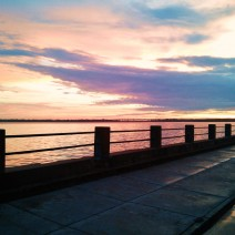 Viewing the sunset from along the Ashley River in Charleston, SC is often a memorable experience.