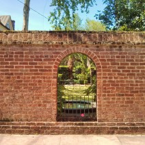 A hole in the wall in Charleston, SC more often than not reveals a beautiful garden.