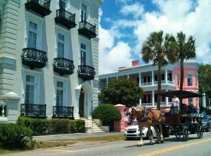 Running into horse drawn carriages on a daily basis is one of the hazards of living in the top tourist destination in the USA.