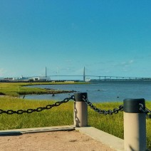From an aircraft carrier to an amazing bridge, Charleston Harbor is full of wonderful sights and action.