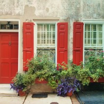 Charleston has beautiful houses and beautiful houses with beautiful flower boxes.