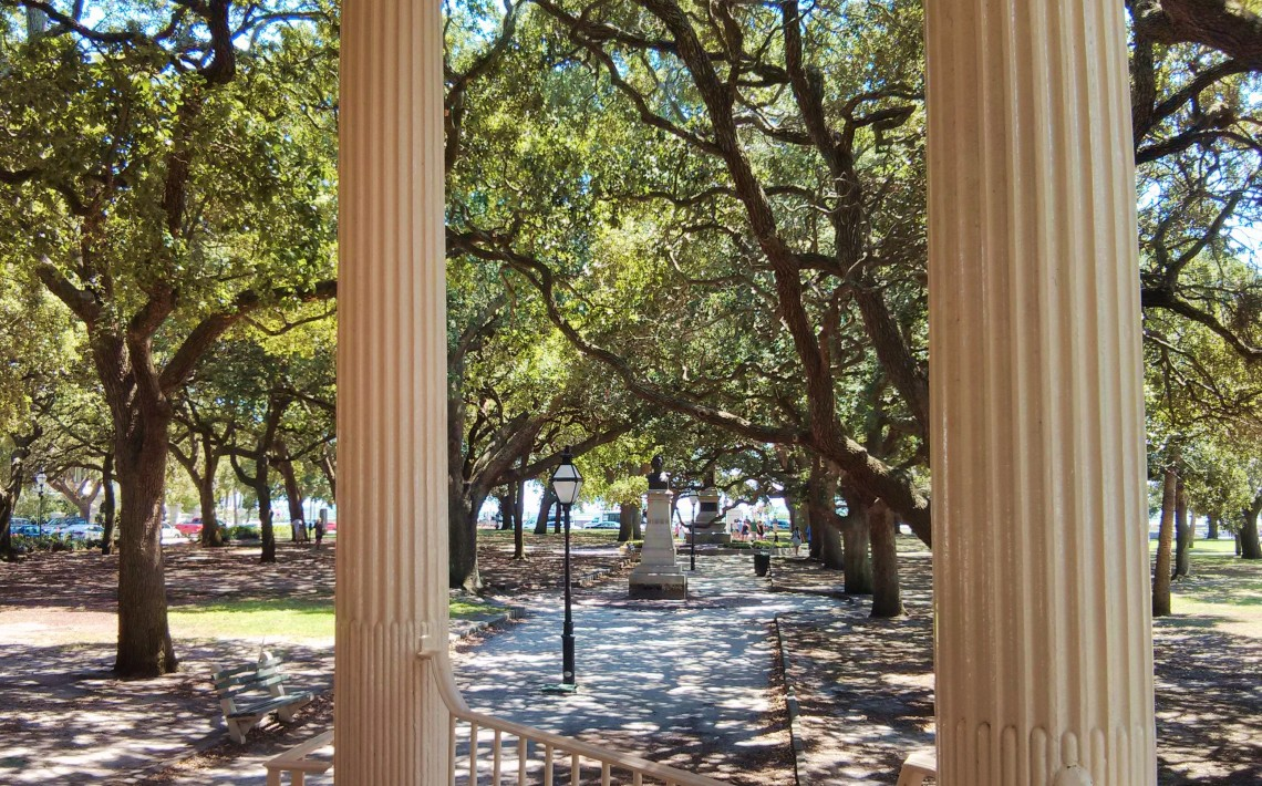 A Charleston View - Glimpses of Charleston