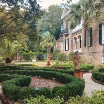 Charleston, SC is famed for its gardens, houses and iron gates. You can find this garden on Charlotte Street.