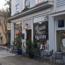 Charleston is full of some very cool corner grocery stores. The Queen Street Grocery is one of the best, with made to order crepes all day.