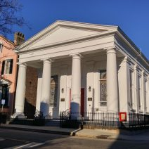 At the corner of Anson and Hasell Streets, you will find St. Johannes Lutheran Church. Just another Charleston intersection...