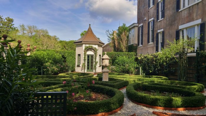 Charleston is well known for its amazing gardens. This spectacular one, on Legare Street, tracks its earlier likeness following extraordinary amount archaeological research to ensure its accuracy.