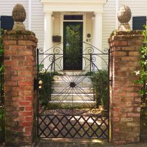 Charleston is well known for it's beautiful wrought iron gates. This one can be found at 67 South Battery.