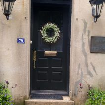 Within the amazing array of historical buildings in Charleston, there are some wonderful and interesting doorways. This one can be found on Church Street.