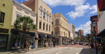 Shopping on King Street