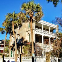Just another Charleston house on just another beautiful Charleston day. You can find this house on Meeting Street.