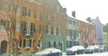 Charleston in the Snow