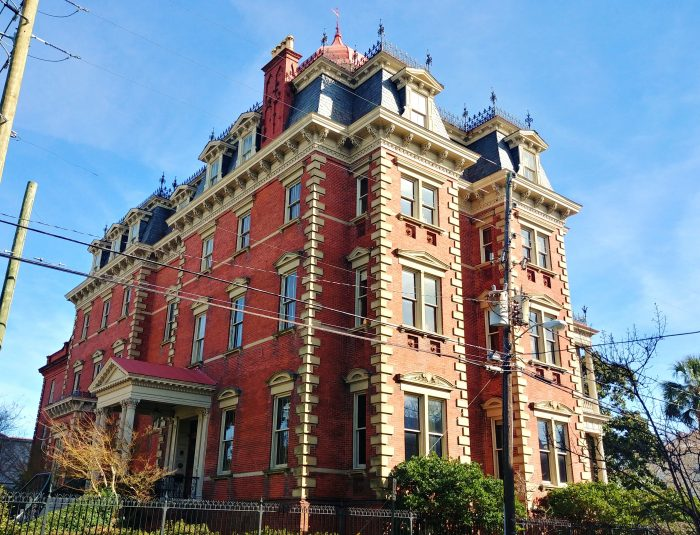 The Wentworth Mansion is an incredible almost 24,000 square foot building. It was originally created as a single family house and was lived in for 34 years. It later became the home of an insurance company. It's currently one of the great small hotels in the United States.