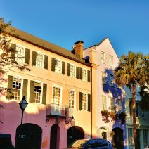 The now beautiful Georgian Houses that make up Rainbow Row didn't always look so good. In the 1920's, Susan Pringle Frost, the founder of the Society for the Preservation of Old Dwellings (now the Preservation Society of Charleston) bought six of the buildings which were then in near slum-like conditions. With that, she began one of the first preservation efforts in the United States, even though she did not do the restoration of those properties herself (that was begun by Dorothy Haskell Porcher Legge in 1931).