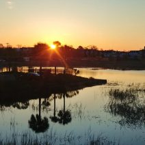 While sitting at the Marina Variety Store Restaurant, home of the best breakfast in Charleston, part of the show can be the sun rising above the Charleston peninsula. As one of the few places downtown where you can sit on the water while eating or drinking, the MVSR is a great place to start the day.