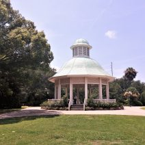 This inviting gazebo is in Hampton Park. In 1902 President Theodore Roosevelt visited the park during his visit to theSouth Carolina Inter-State and West Indian Exposition.