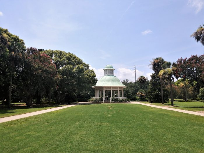 This beautiful scene can be found in Hampton Park, the largest park in Charleston. Croquet anyone?