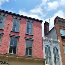 These beautiful facades can be found on King Street. The beauty is just one of the things that caused it to be named one of the 10 top shopping streets in the United States by US News and World Report.