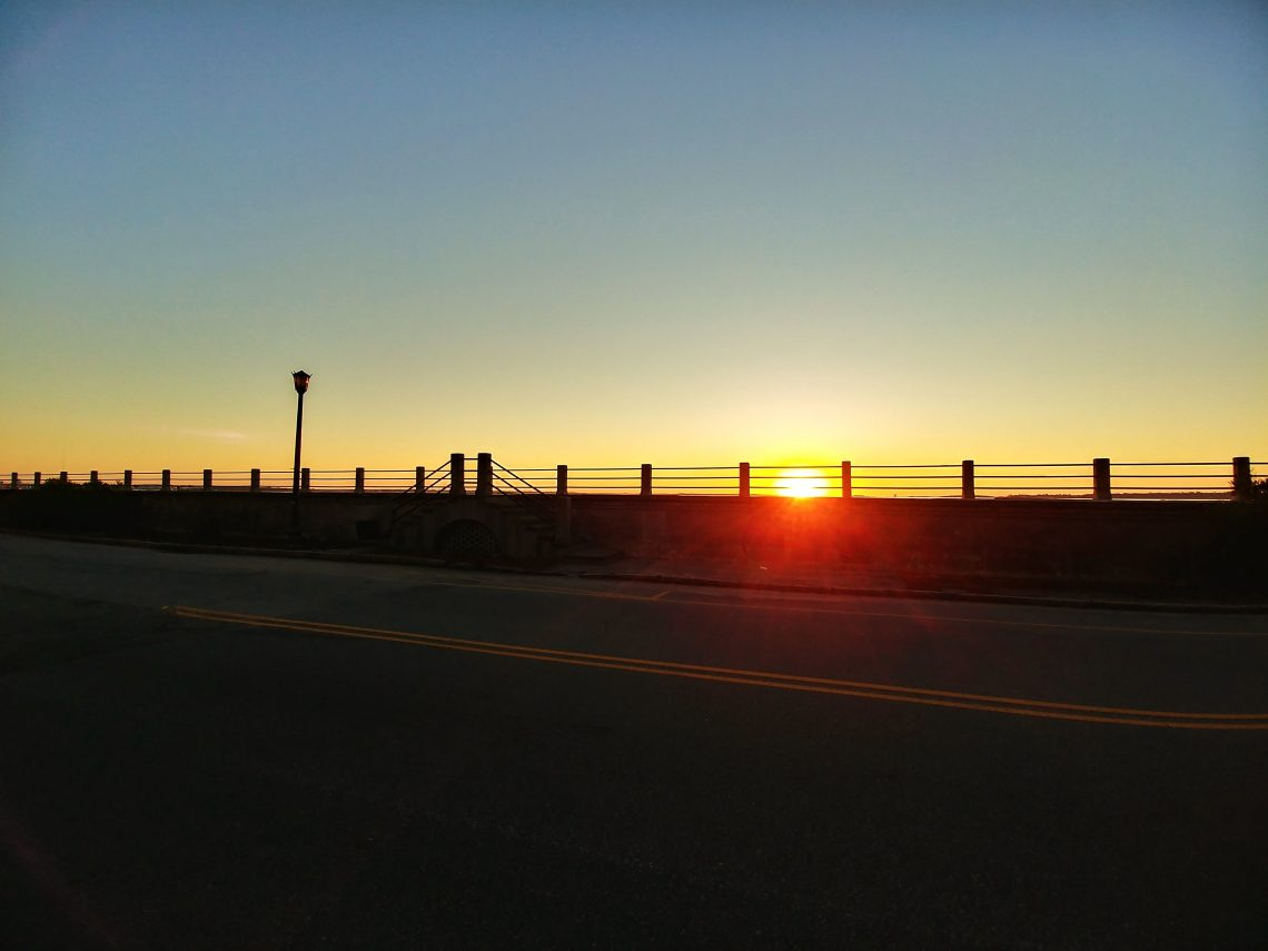 The High Battery is one of the most popular places to take a walk in Charleston. With amazing views of the harbor, across to Sullivan's Island, Mt. Pleasant, Fort Sumter and more, it's also a great place to watch the sun rise.
