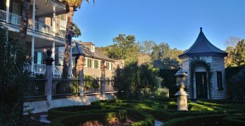 The Pineapple Gate House, as theSimmons-Edwards Houseis more commonly known, is a wonderful c.1800 property on Legare Street. The garden was meticulously restored back to its original 1818 design following a extensive archaeological study.