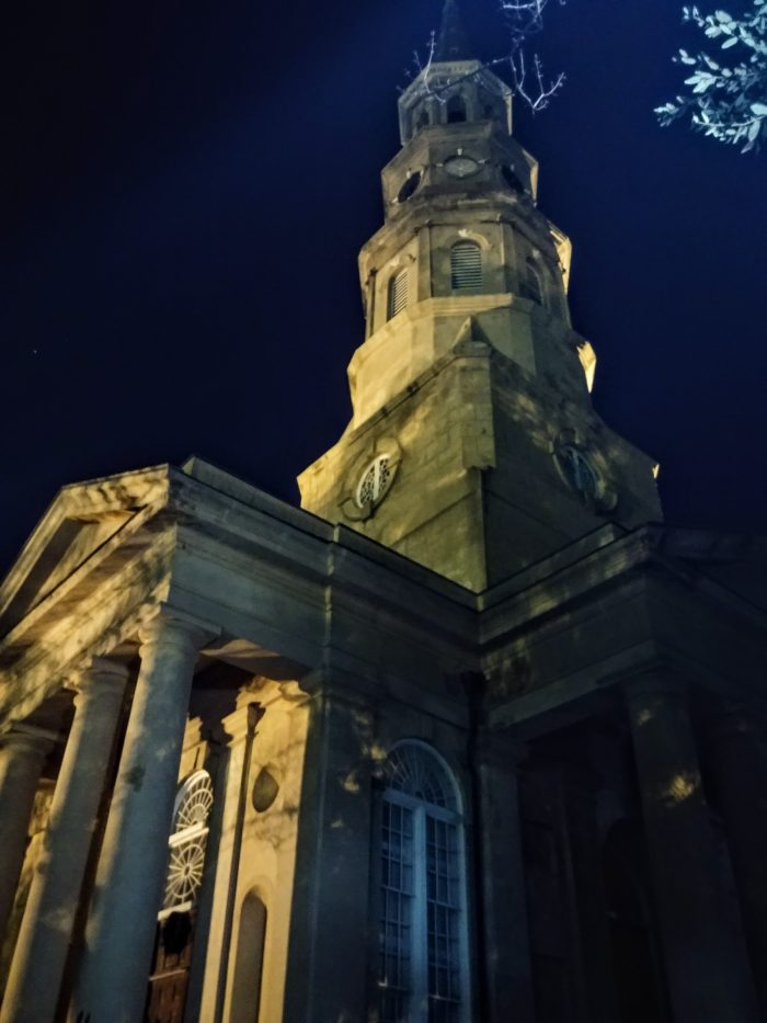 The congregation of St. Philip's Church was established in 1681. The current iconic and gorgeous current building, which is the third to house the congregation, was built in 1836 (and the steeple completed in 1850).