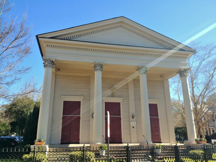 St. Marks Church was founded in 1865 by a group of free black Episcopalians after the end of the Civil War -- as they had no other place to worship.