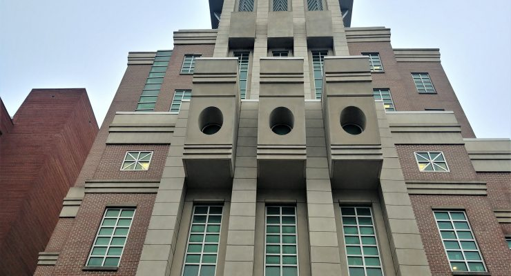 The Hollings Cancer Center at MUSC has helped countless people and families. While not a traditional looking Charleston building, it sure plays an important role.