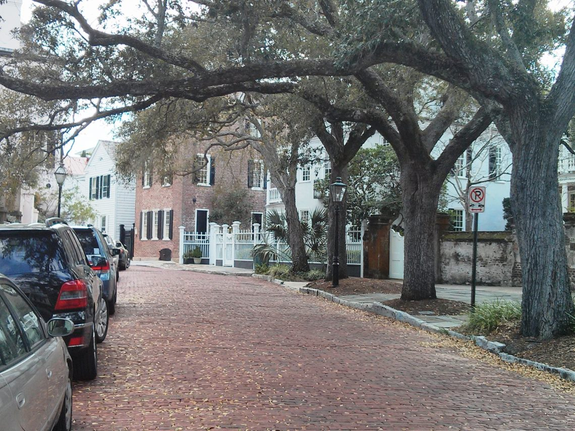 """The section of Church Street is called the """"Bend"""" for obvious reasons. This bricked stretch of the street is one of the most beautiful to stroll in town."""
