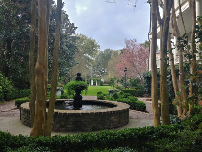 This gorgeous garden on Legare Street was the site for the Gaud School for Boys until 1918. Gaud, which merged with the Porter Military Academy in 1964 to become the Porter-Gaud School, is one of the most prominent schools in Charleston and South Carolina. Not a bad spot to get your start.