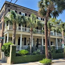 This beautiful house on Society Street was built in 1840. Just another incredible antebellum house in Charleston.