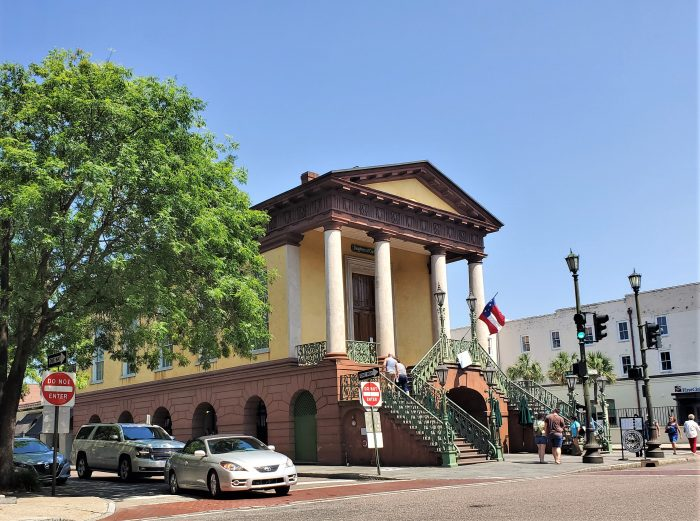 Market Hall is the striking front end of Charleston City Market, and one of the most visited sites in Charleston. In 1788,  Charles Cotesworth Pinckney gave the land to the City with the stipulation that the land must forever remain in use as a market.