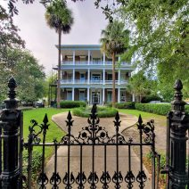 Just another beautiful Charleston house, which can be found on Bee Street. While built for a single family, it has not been divided into apartments.