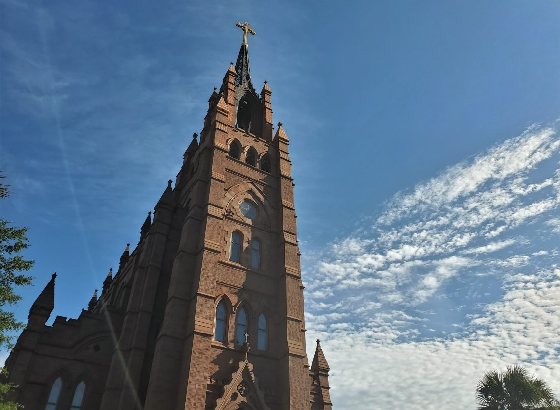 The cornerstone for theCathedral of St. John the BaptistonBroad Streetwas laid in 1890, but the construction of the church was not completed until 2010 — when the steeple was finally added.