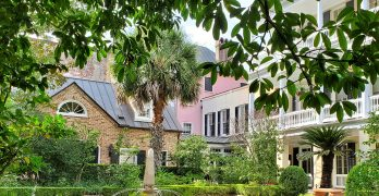 This beautiful garden belongs to the 19850 house at 39 Legare Street. I wonder if Legare the Lowcountry Lizard lives there.
