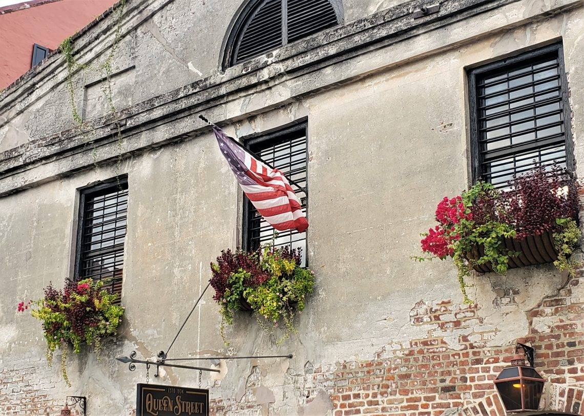 Formerly known as the Footlight Players Theater, this space has been rebranded as the Queen Street Playhouse. Home to the oldest theater company in Charleston, the Footlight Players, before they moved in the building was a cotton warehouse.