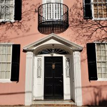 This eye-catching pink house on Tradd Street was built in 1740 -- 36 years before the American Revolution.