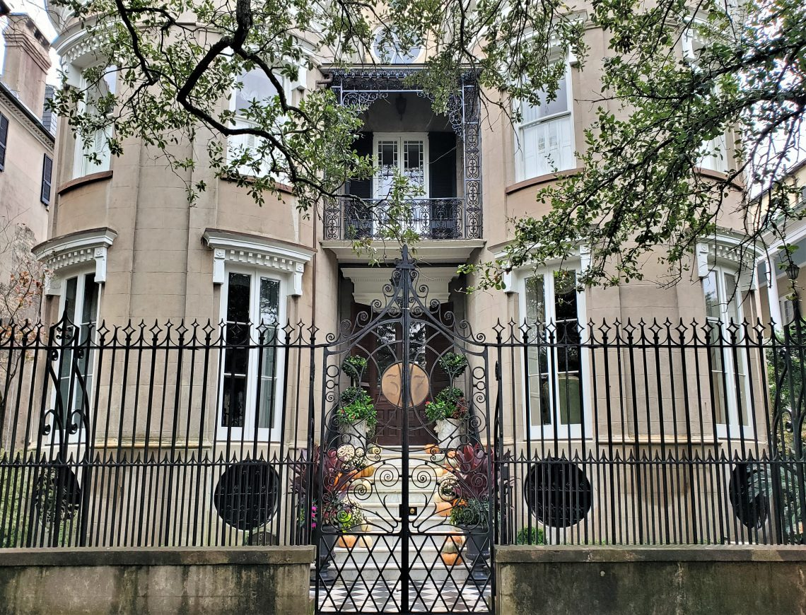 Built in 1760, this house beautiful house on Meeting Street did not receive its curves until an 1840's renovation. Among its prominent residents over the years was General Pierre G.T. Beauregard, the commander of the Confederate Forces in Charleston.