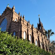 The cornerstone for the Cathedral of St. John the Baptist on Broad Street was laid in 1890. The construction of the church was finally completed in 2010, when the steeple was added. The Cathedral itself was opened, however, in 1907.