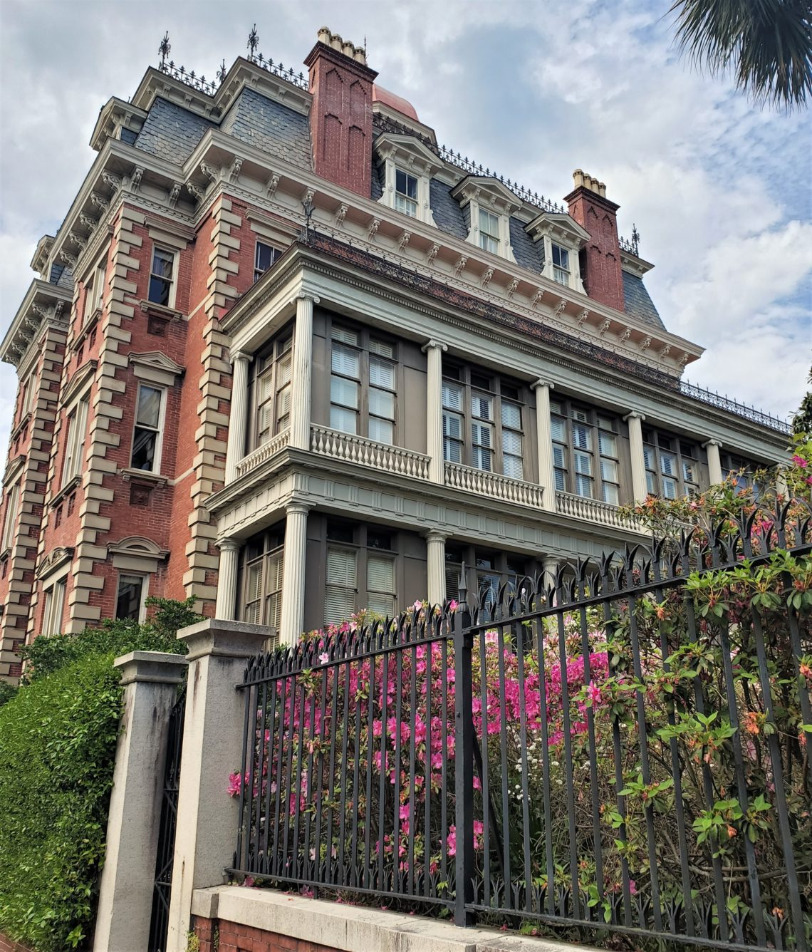 """The Wentworth Mansion, built c. 1886 as a private house on Wentworth Street, was once known as """"the finest home in all of Charleston."""" With about 24,000 square feet of space, it's an amazing building. You can stay there, as it is now a spectacular 5 Star hotel."""