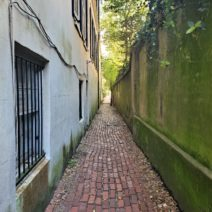Stolls Alley, which connects East Bay to Church Street, is one of my favorite cut-thru's in Charleston.